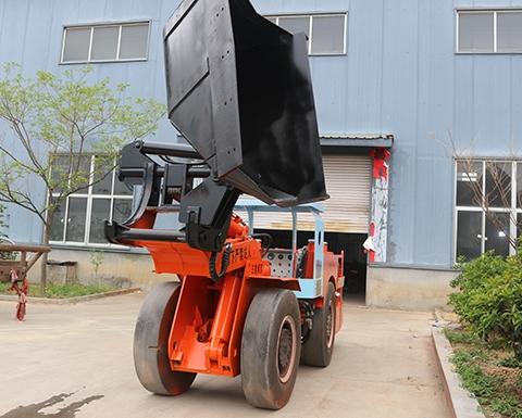 内燃式地下铲运机安全操作规程