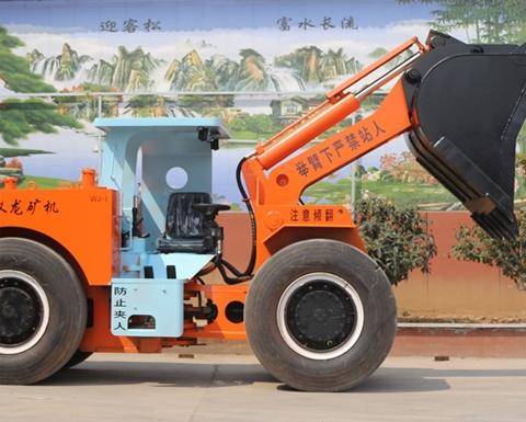 地下内燃铲运机实现矿山的智能化