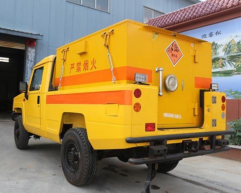 湿式制动炸药车是如何制动的?